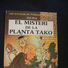 Cómics: LES AVENTURES DEL PROFESSOR PALMERA - EL MISTERI DE LA PLANTA TAKO - JOVENTUT - EN CATALÀ . Lote 37335268