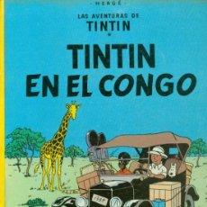 Cómics: TINTIN EN EL CONGO (1982) . Lote 37692619