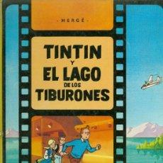 Cómics: TINTÍN Y EL LAGO DE LOS TIBURONES - HERGÉ (ED. JUVENTUD 1981) . Lote 54941082