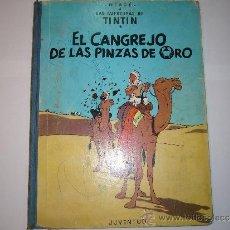 Cómics: TINTIN- EL CANGREJO DE LAS PINZAS DE ORO, SEGUNDA EDICCIÓN 1966. Lote 37476487