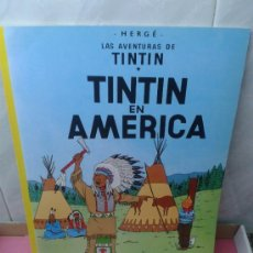 Cómics: COMIC LAS AVENTURAS DE TINTIN EN AMERICA EDITORIAL JUVENTUD EDICION 1995. Lote 37584925