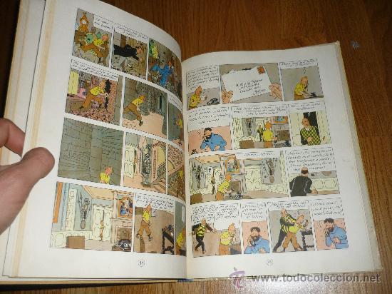 Cómics: LAS AVENTURAS DE Tintin HERGE El secreto del Unicornio - 2ª edición LOMO TELA AZUL - Foto 4 - 37756611