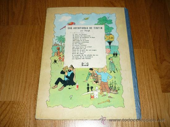 Cómics: LAS AVENTURAS DE Tintin HERGE El secreto del Unicornio - 2ª edición LOMO TELA AZUL - Foto 6 - 37756611