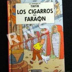 Cómics: TINTÍN LOS CIGARROS DEL FARAÓN CÓMIC AVENTURA EDIT. CASTERMAN 2000 TAPA DURA PEQUEÑO -NO ES JUVENTUD. Lote 38186824