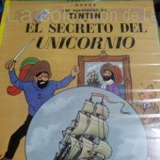 Cómics: TINTIN EL SECRETO DEL UNICORNIO. Lote 38310966