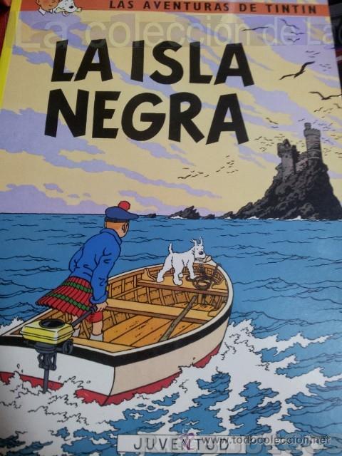 TINTIN LA ISLA NEGRA (Tebeos y Comics - Juventud - Tintín)