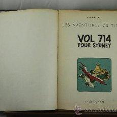 Cómics: 3585- VOL 714 POUR SYDNEY. HERGE. EDIT. CASTERMAN. 1968. . Lote 113320586
