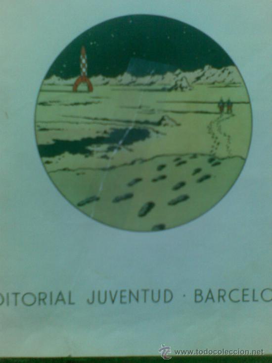 Cómics: Aterrizaje en la Luna (edición 1965) / Hergé. Juventud. Las aventuras de Tintín. - Foto 8 - 38392016