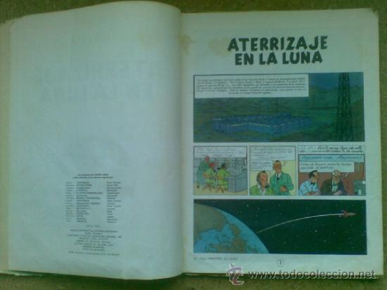 Cómics: Aterrizaje en la Luna (edición 1965) / Hergé. Juventud. Las aventuras de Tintín. - Foto 10 - 38392016