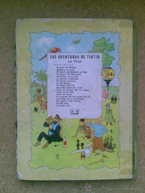 Cómics: Aterrizaje en la Luna (edición 1965) / Hergé. Juventud. Las aventuras de Tintín. - Foto 3 - 38392016