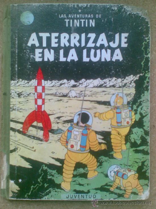 ATERRIZAJE EN LA LUNA (EDICIÓN 1965) / HERGÉ. JUVENTUD. LAS AVENTURAS DE TINTÍN. (Tebeos y Comics - Juventud - Tintín)