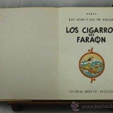 Cómics: 3591- LOS CIGARROS DEL FARAON. HERGE. EDIT. JUVENTUD. 1979.. Lote 38413272