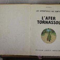 Cómics: 3604- L'AFER TORNASSOL. HERGE. EDIT. JUVENTUD. 1981. . Lote 38441055