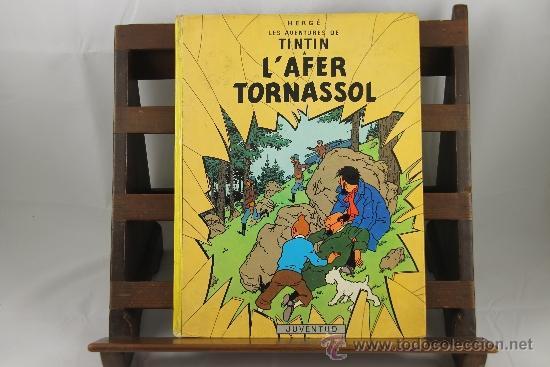 Cómics: 3604- L'AFER TORNASSOL. HERGE. EDIT. JUVENTUD. 1981. - Foto 4 - 38441055