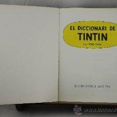 Cómics: 3608- EL DICCIONARI DE TINITN. HERGE. TONI COSTA. EDIT. JUVENTUT. 1987. . Lote 38441387