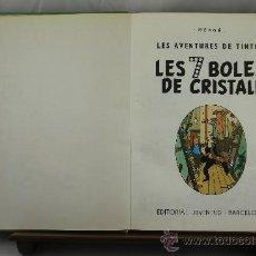 Cómics: 3609- LES 7 BOLES DE CRISTALL. HERGE. EDIT JUVENTUD.1978.. Lote 38441665