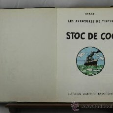 Cómics: 3611- STOC DE COC. HERGE. EDIT. JUVENTUD. 1976. . Lote 38441831