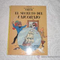 Cómics: TINTIN EL SECRETO DEL UNICORNIO 7ª EDICION Nº 1979. Lote 38501568