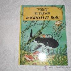 Cómics: TINTIN EL TRESOR DE RACKHAM EL ROIG 11 ª EDICIO 1990. Lote 38501778