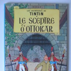 Cómics: LE SCEPTRE D' OTTOKAR, LES AVENTURES DE TINTIN, HERGÉ. CASTERMAN. Lote 38765206