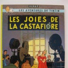 Comics - LES AVENTURES DE TINTÍN - LES JOIES DE LA CASTAFIORE - HERGÉ - EN CATALÁN - JOVENTUT - AÑO 1982. - 38875785