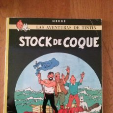 Cómics: TINTIN - STOCK DE COQUE. Lote 39148227