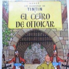 Cómics: TINTIN POSTAL EL CETRO DE OTTOKAR . Lote 39285256