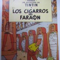 Comics - tintin los cigarros de faraon postal - 39285523