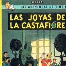 Cómics: LAS AVENTURAS DE TINTIN. LAS JOYAS DE LA CASTAFIORE. EDIT. JUVENTUD. 62 PAGS. 16ª EDICION. 1996.. Lote 39293976