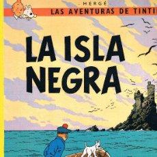 Cómics: LAS AVENTURAS DE TINTIN. LA ISLA NEGRA. EDIT. JUVENTUD. 62 PAGS. 14ª EDICION. 1996.. Lote 39294029