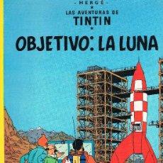 Cómics: LAS AVENTURAS DE TINTIN. OBJETIVO: LA LUNA. EDIT. JUVENTUD. 62 PAGS. 17ª EDICION. 1996.. Lote 39294054