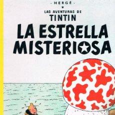 Cómics: LAS AVENTURAS DE TINTIN. LA ESTRELLA MISTERIOSA. EDIT. JUVENTUD. 62 PAGS. 18ª EDICION. 1997.. Lote 39294073