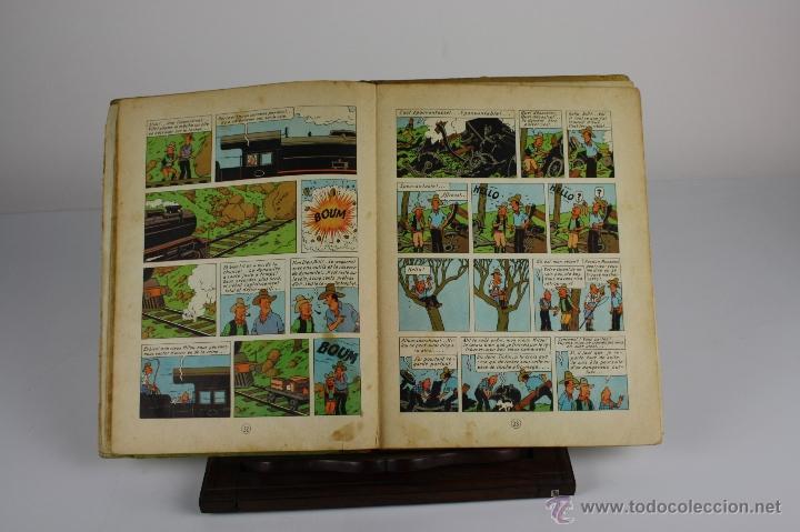 Cómics: 6036- TINTIN EN AMÉRIQUE. HERGE. EDIT. CASTERMAN. 1947. - Foto 3 - 39368351