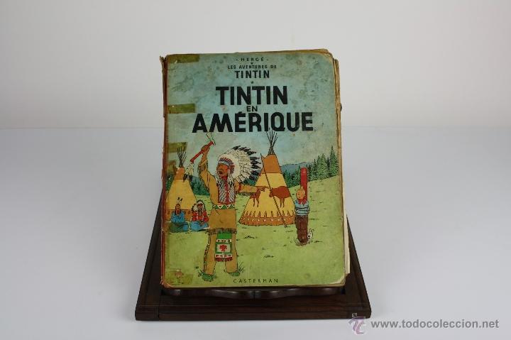 Cómics: 6036- TINTIN EN AMÉRIQUE. HERGE. EDIT. CASTERMAN. 1947. - Foto 4 - 39368351
