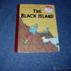 Cómics: TINTIN IDIOMAS - LA ISLA NEGRA / THE BLACK ISLAND VERSION 1943 INGLES. Lote 134132038