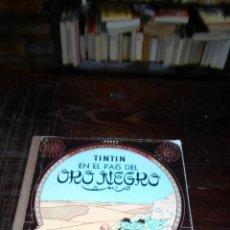Cómics: TINTIN EN EL PAIS DEL ORO NEGRO, ED. JUVENTUD, 9 ED. 1985, LOMO DE TELA MARRON. Lote 39505494