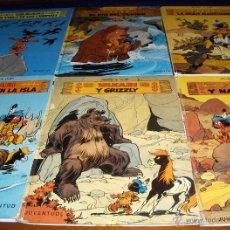 Cómics: YAKARI NºS 3, 4, 5, 9, 10, 14 Y 15. JUVENTUD. AÑOS 80.. Lote 39557648