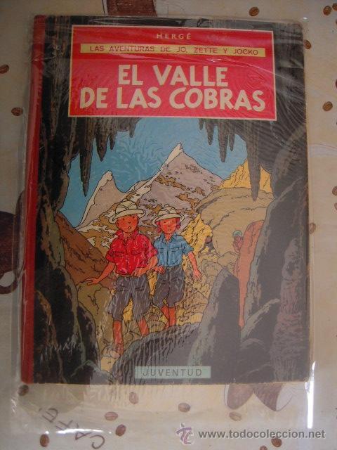 JO,ZETTE Y JOCKO EL VALLE DE LAS COBRAS 1ª EDICION MBE (Tebeos y Comics - Juventud - Otros)