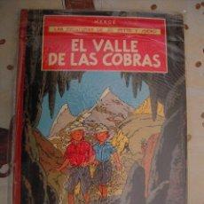 Cómics: JO,ZETTE Y JOCKO EL VALLE DE LAS COBRAS 1ª EDICION MBE. Lote 39571517