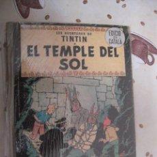 Cómics: TINTIN EL TEMPLE DEL SOL 1ª EDICION EN CATALAN. Lote 39584869