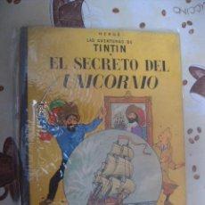 Cómics: TINTI EL SECRETO DEL UNICORNIO 4ª EDICION MBE. Lote 39585335