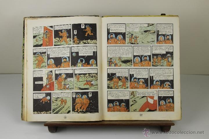 Cómics: 3934- ATERRIZAJE EN LA LUNA. HERGE. EDIT. JUVENTUD. 1965. - Foto 3 - 39629085