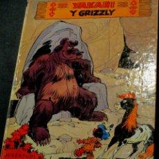 Cómics: YAKARI Y GRIZZLY DERIB+JOB EDITORIAL JUVENTUD AÑO 1981. Lote 39754603