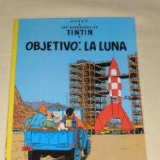 Cómics: LAS AVENTURAS DE TINTIN - OBJETIVO: LA LUNA. EDITORIAL JUVENTUD 1996. 17 EDICION. Lote 39876366