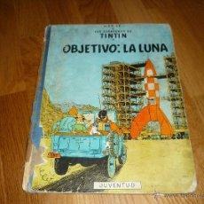 Cómics: COMIC DE TINTIN, OBJETIVO LA LUNA - AÑO 1965. Lote 39892703