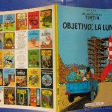 Cómics: TINTIN. OBJETIVO LA LUNA..HERGÉ.JUVENTUD 1996.. Lote 39931866