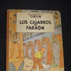 Cómics: LAS AVENTURAS DE TINTIN - LOS CIGARROS DEL FARAON - PRIMERA (1ª) EDICION - JULIO 1964 - JUVENTUD. Lote 39983100