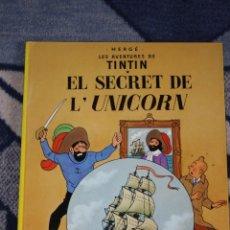 Cómics: TINTIN EL SECRET DE L'UNICORN JOVENTUD. Lote 39991940