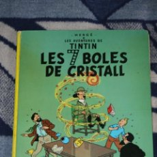 Cómics: TINTIN LES 7 BOLES DE CRISTALL JOVENTUD. Lote 39991972