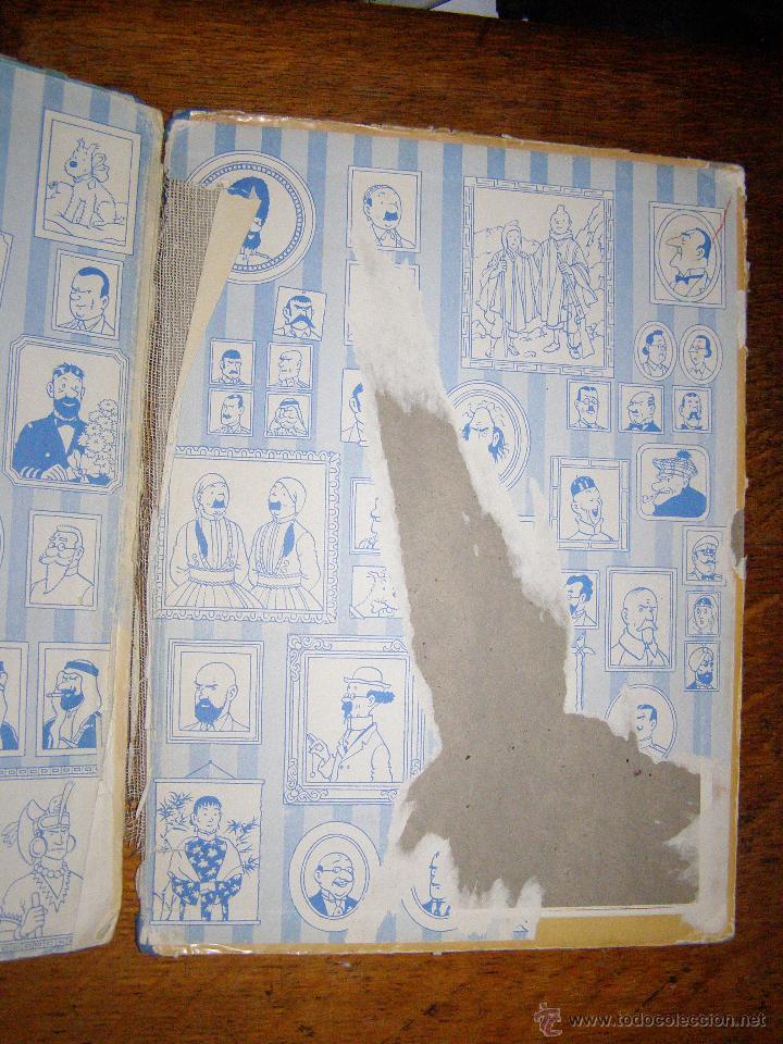 Cómics: Tintin en el Congo - Hergé - Juventud - Muy deteriorado - 1º Edición pero sin editorial - - Foto 4 - 40304451